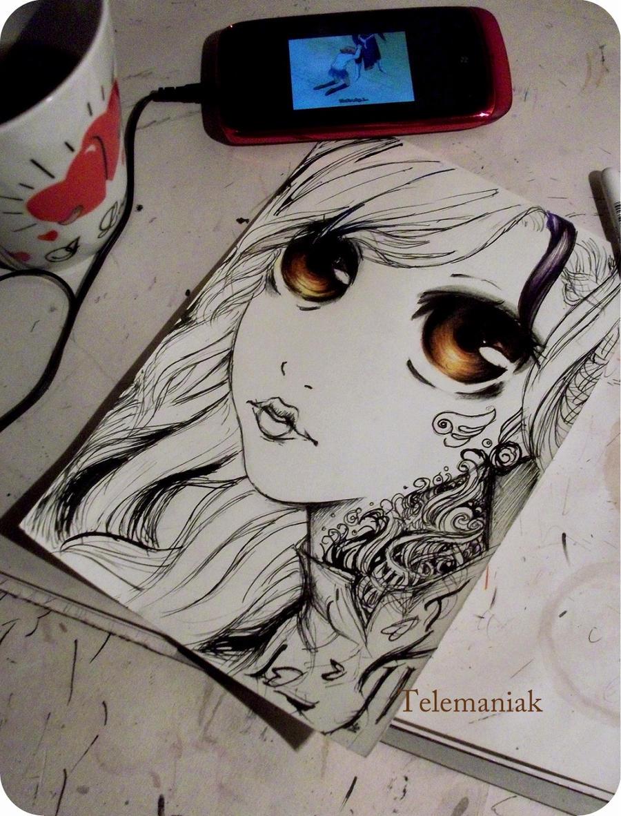bad girl by Telemaniakk