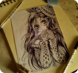 girl by Telemaniakk