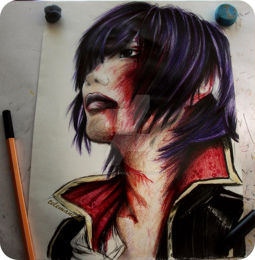 gintama takasugi by Telemaniakk