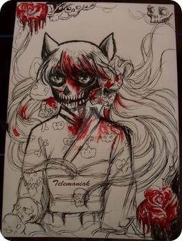 wip Demon Maiden Zakuro