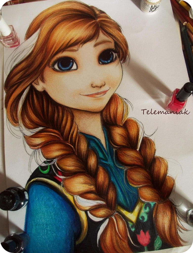 Anna frozen by Telemaniakk