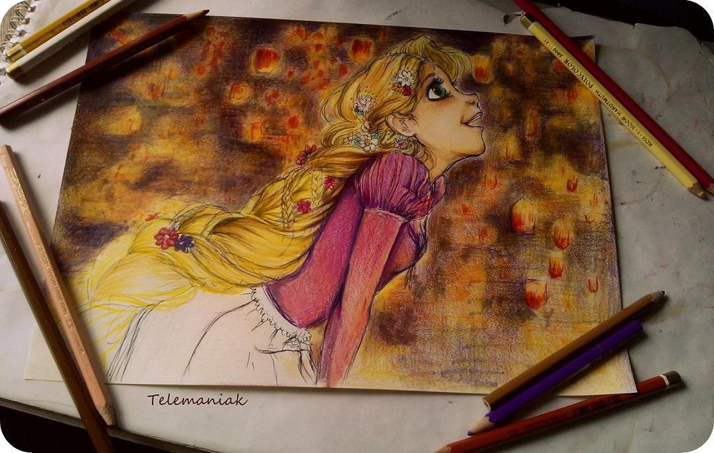 tangled wip by Telemaniakk