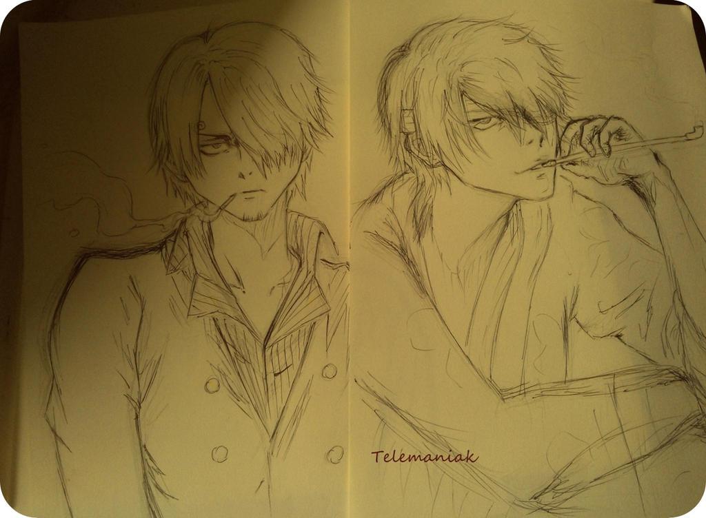 Takasugi Shinsuke/Sanji by Telemaniakk
