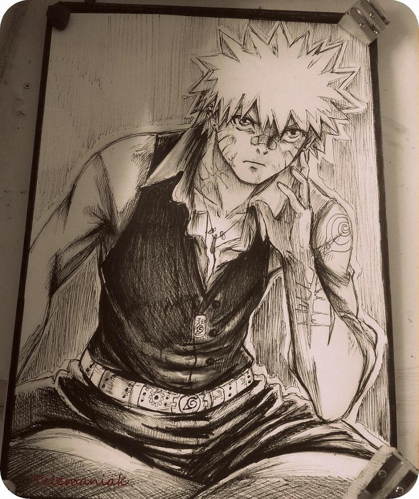 Naruto bad by Telemaniakk
