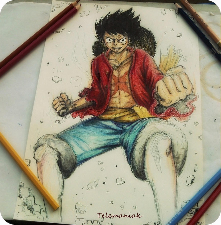 one piece by Telemaniakk