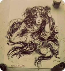 Bunny Sailor moon by Telemaniakk