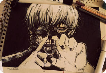 kaneki by Telemaniakk