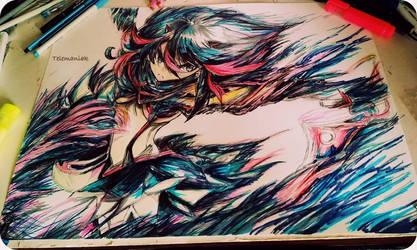 Ryuko wip by Telemaniakk