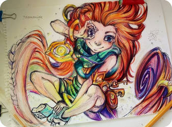 zoe wip by Telemaniakk