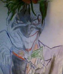 Joker Drawing by RileyFelton