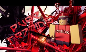 ROBLOX: PureTrading thumbnail design