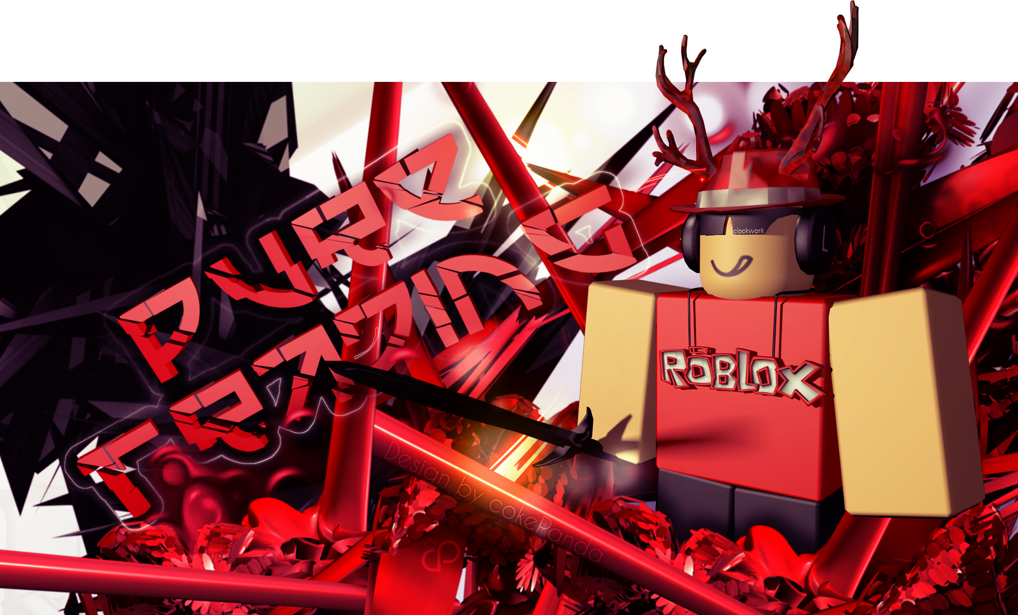 Roblox Puretrading Thumbnail Design By Thisiscamel On Deviantart