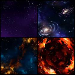 Nebula Tiles I