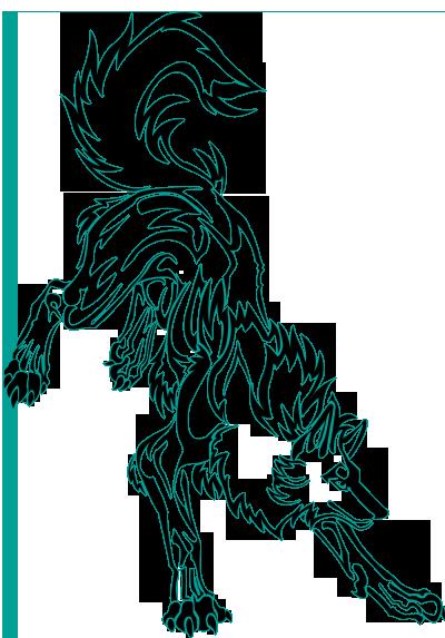 волк лого: