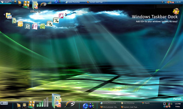 Docks For Windows Taskbar by Pariah07