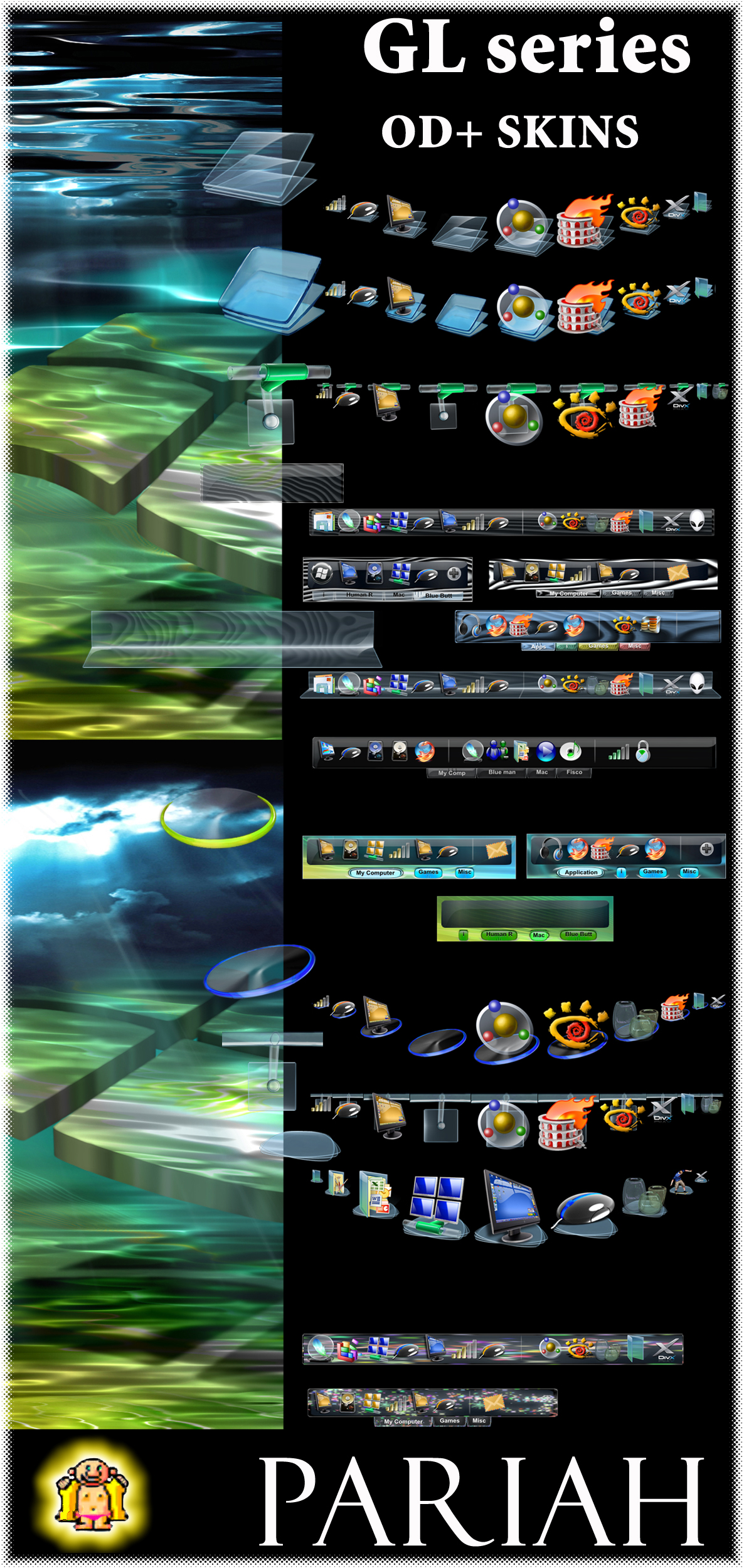 GL series Skin Pac OD+ by Pariah07