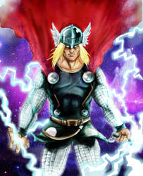 The Allmighty Thor by britolitos96