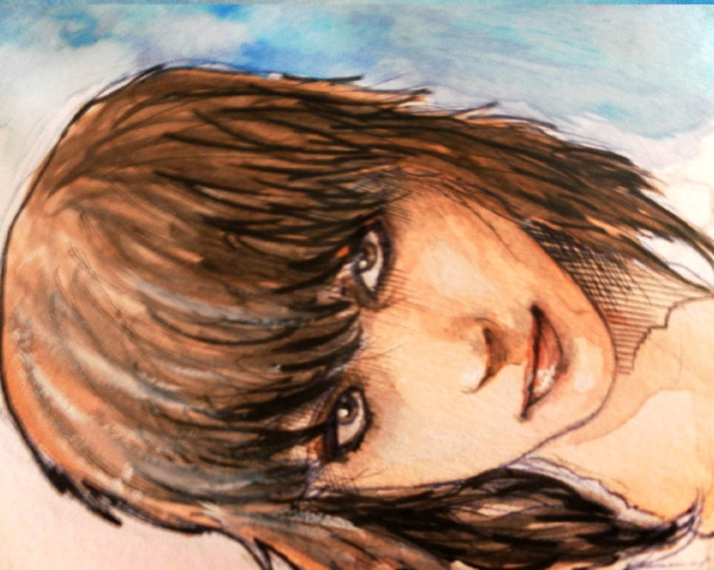 watercolour...face by britolitos96