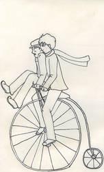 Pennyfarthing ride.