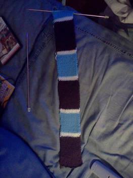 Watson scarf progress.