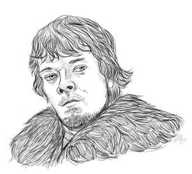 Theon Greyjoy by Paradox-this