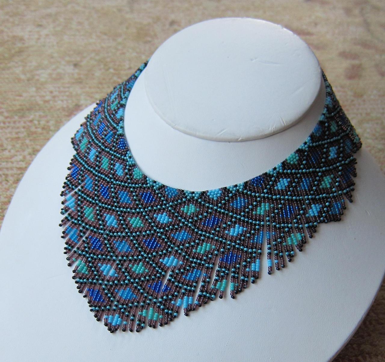 Helmineitsyt 1.2 seed bead necklace by AxmxZ on DeviantArt
