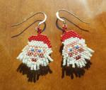 Santa earrings 2.0