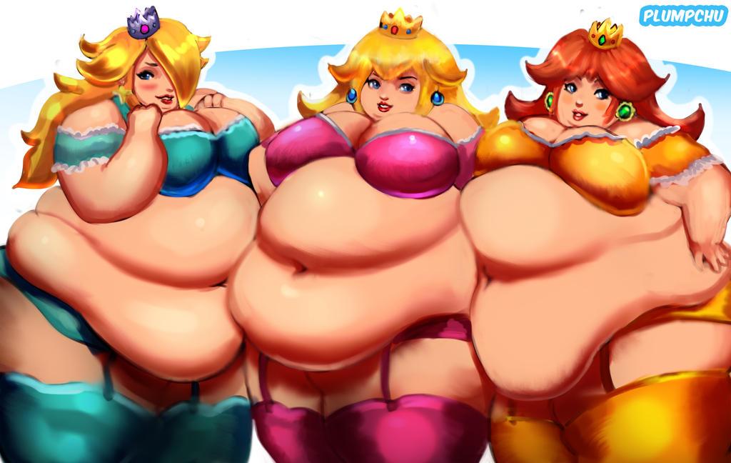 rosalina is naked and fat