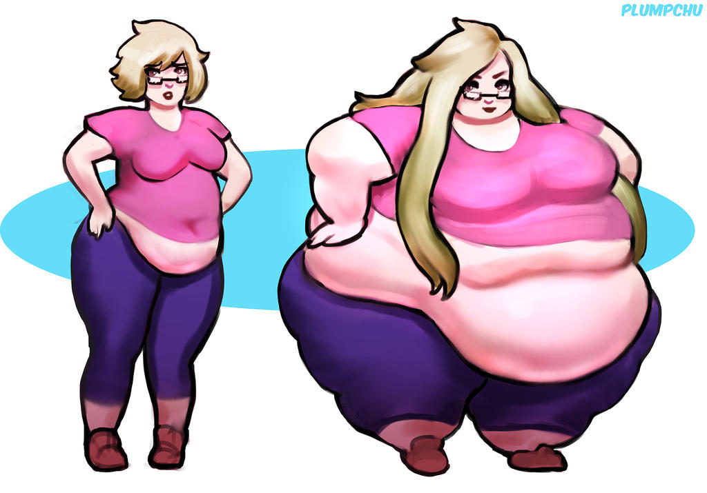 Chubby to Obese - Jen by Plumpchu