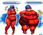 Fat Miraculous Ladybug  - Fat from the Future I