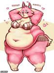 Fat Freya - Animal Crossing Obese Edition