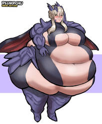 Rounder Lance Alter FGO - Obese Edition