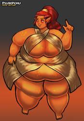 Curvy Wrathia - Obese Edition