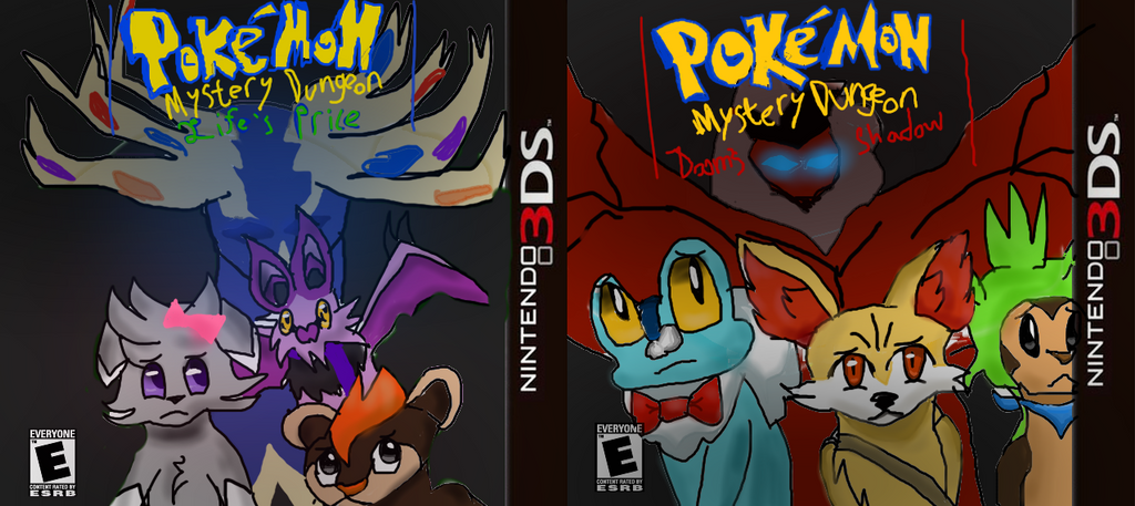 Fake Pokemon Mystery Dungeon Game Things Xd By
