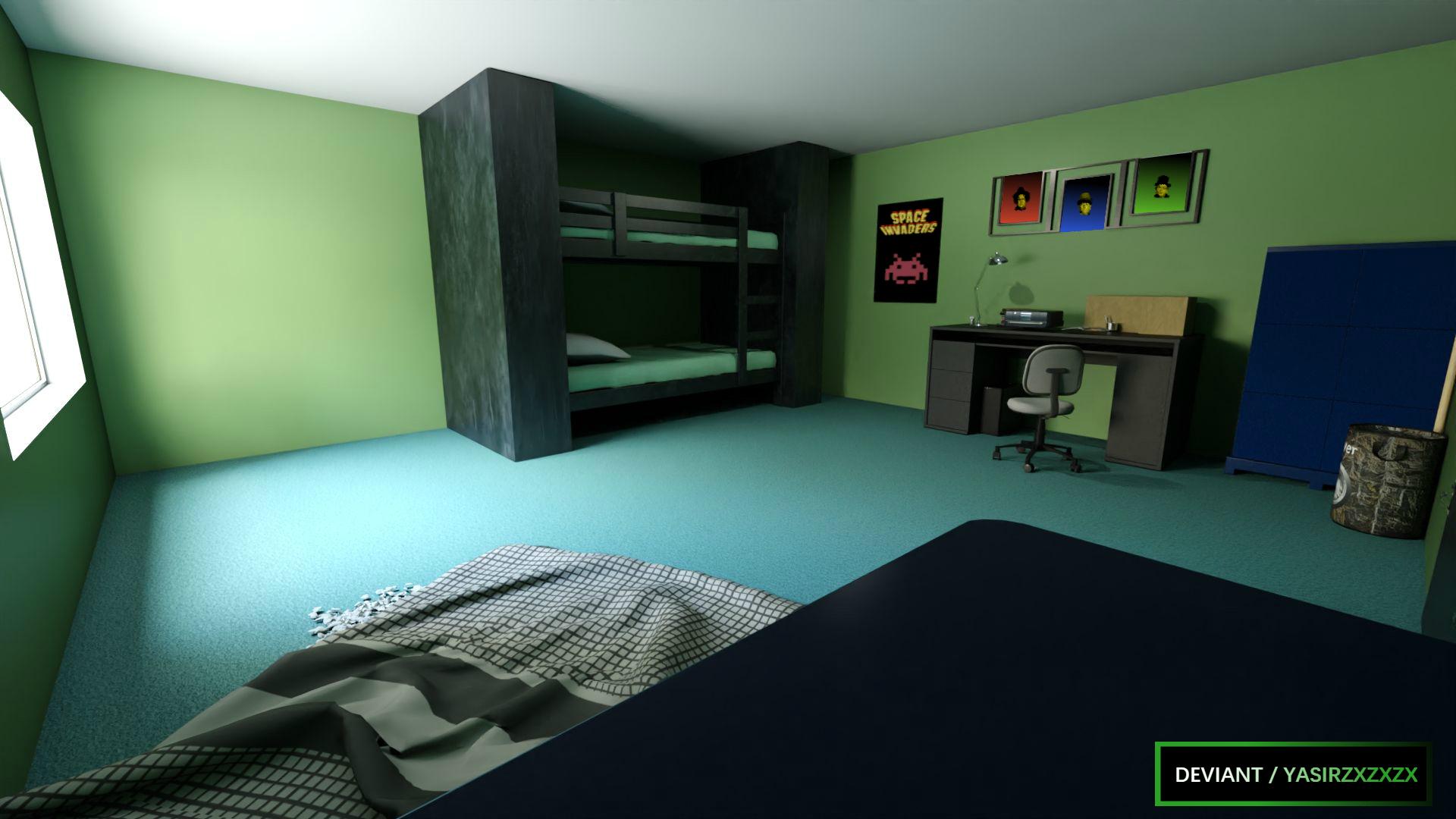 Teen Titans Beastboy S Room By Yasirzxzxzx On Deviantart