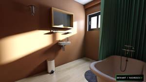 Gravity Falls - Bathroom by yasirzxzxzx