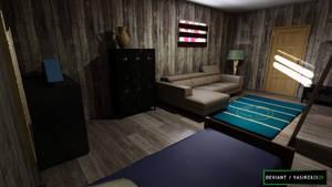 Gravity Falls - Ford's bedroom by yasirzxzxzx