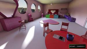 Powerpuff girls - Bedroom by yasirzxzxzx