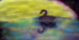 Swan doodle