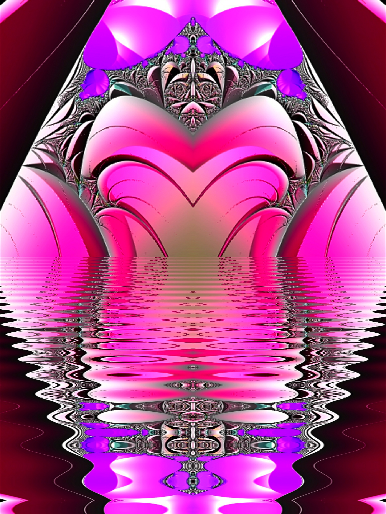 July 28th, 2021 Pink Abstract [4]