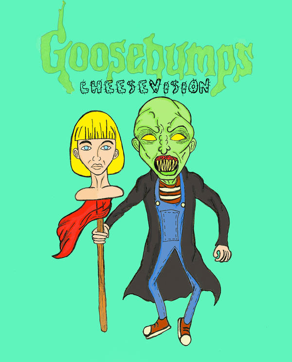 How To Make A Book Cover For Episode ~ Goosebumps by cheesevision on deviantart