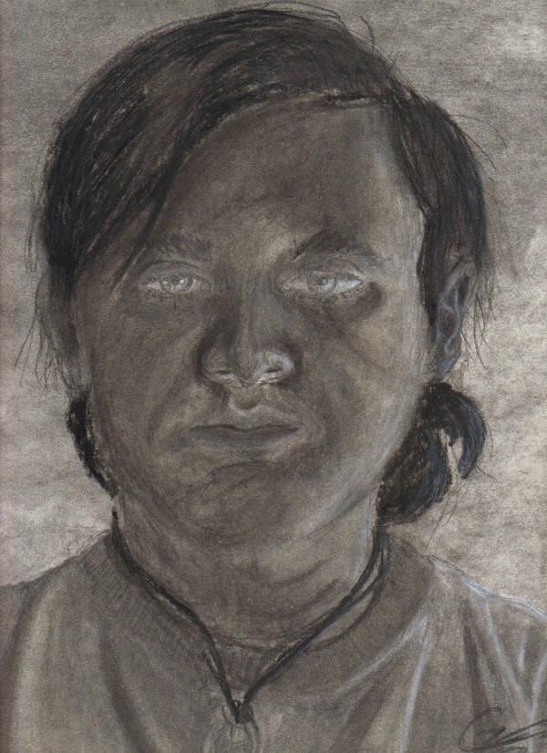 Self Portrait by Master-Oatmeal