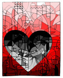A dark heart by Master-Oatmeal