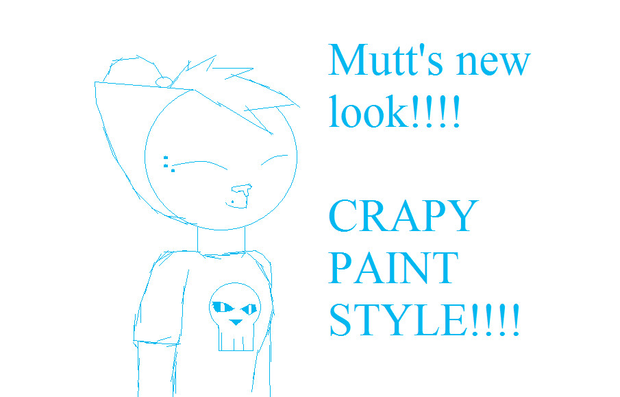 Mutt 39 s new look on paint by muttsy chan thefurry on deviantart for Fresh look painting