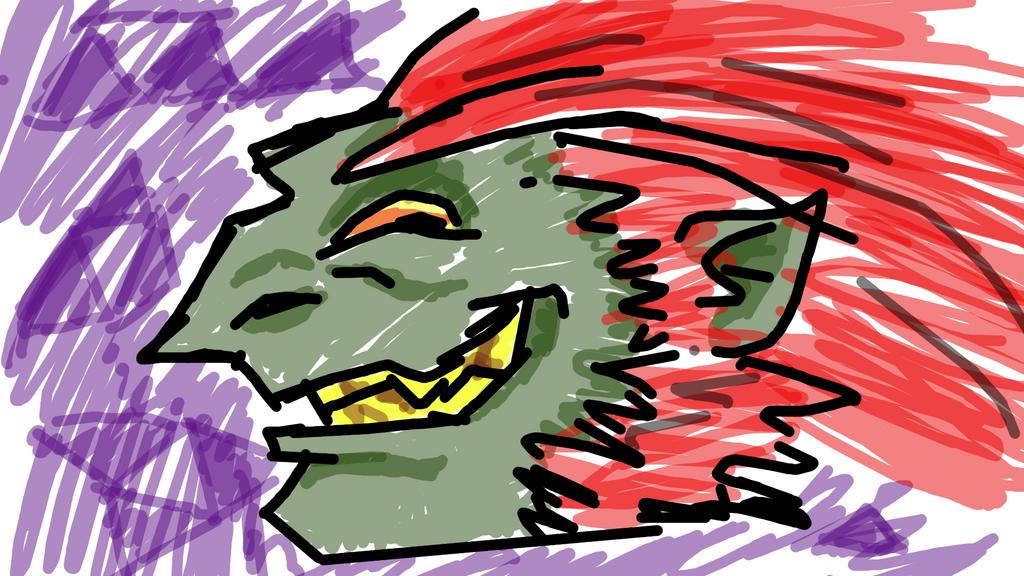 Quick Sketch: Dwarf of Gannon? by Jeda-Teq