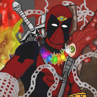 Deadpool Merc with a mouth and Multi-verse arsenal by dragonfire53511
