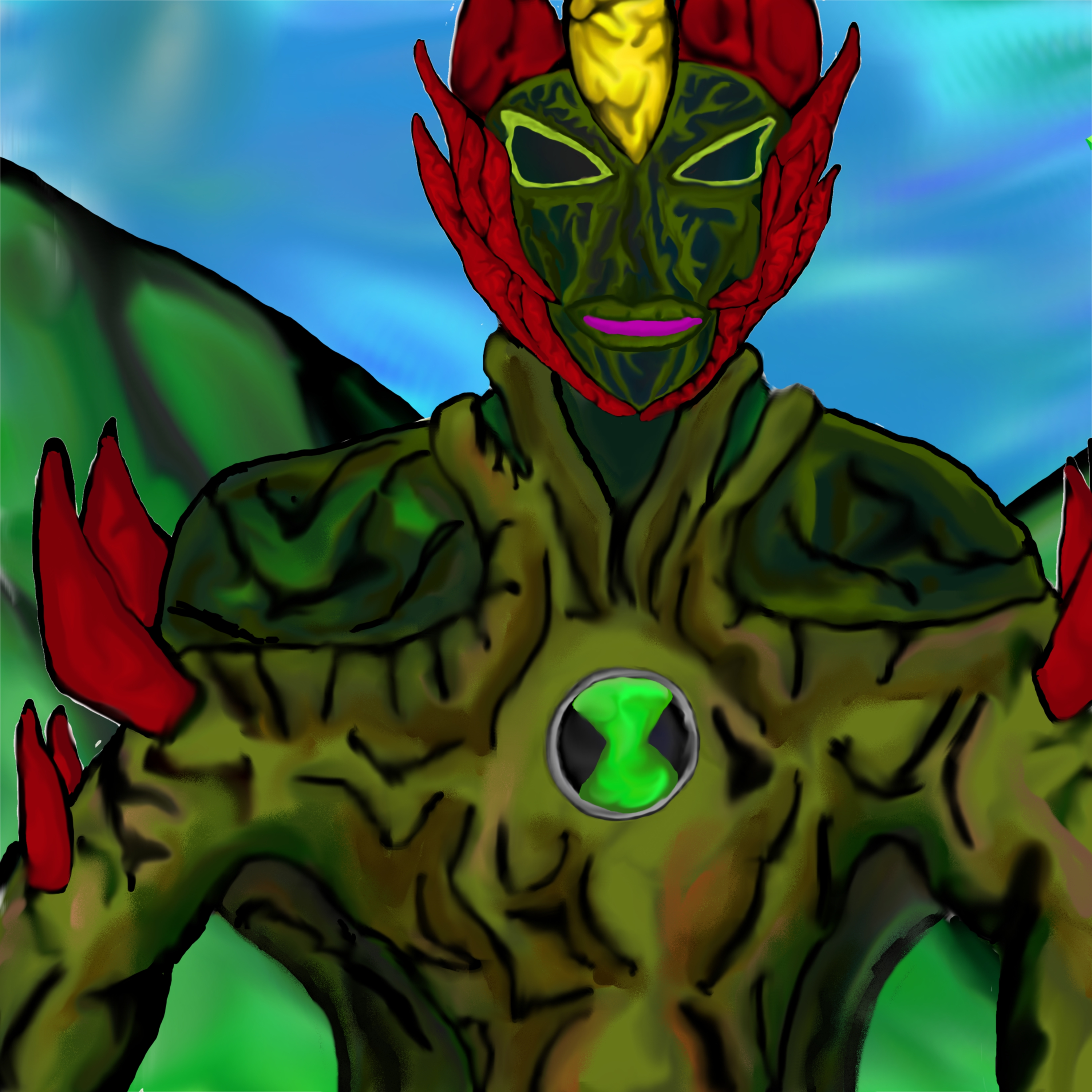 Ben 10 Alien Force: Swampfire by dragonfire53511 on DeviantArt