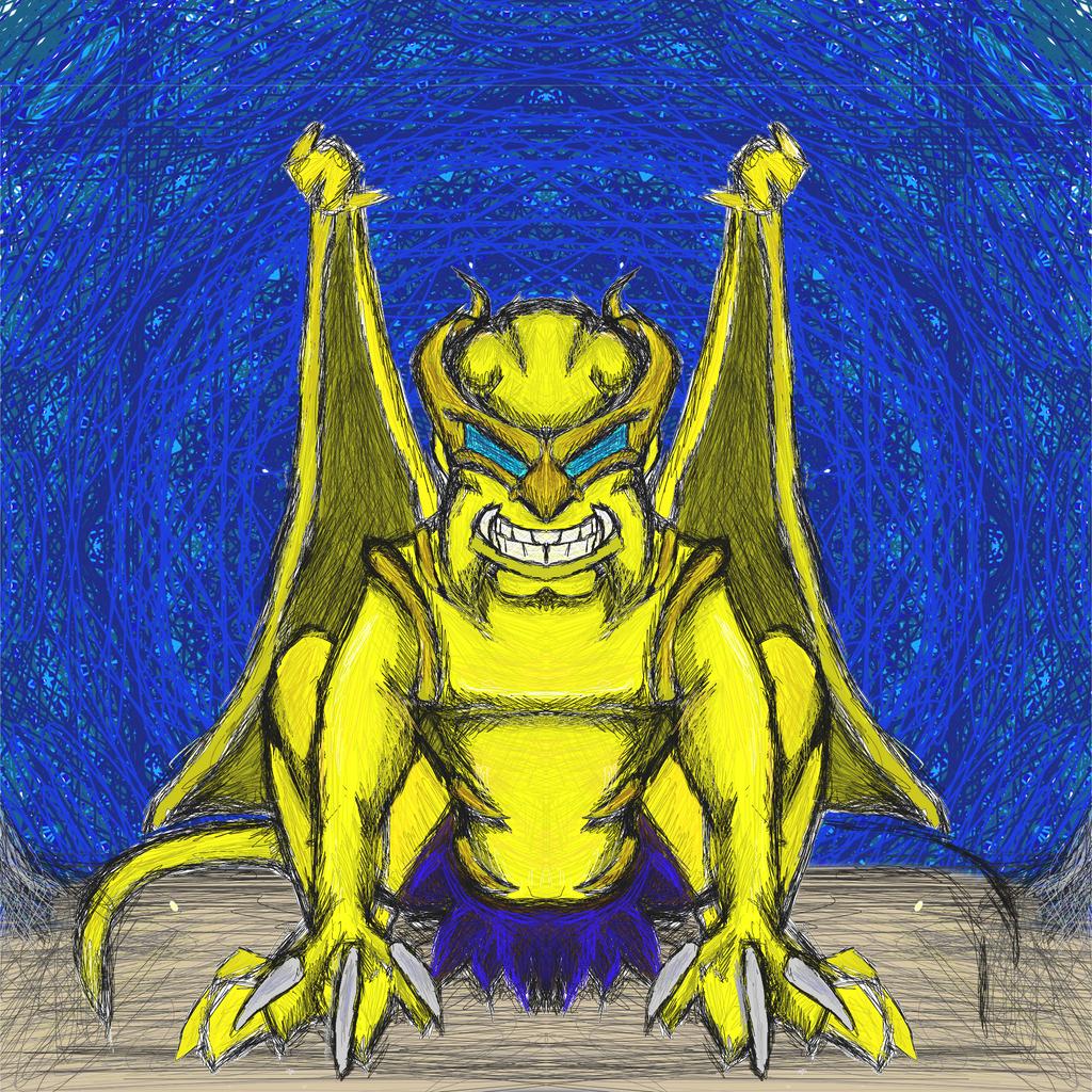 Disney gargoyles marvel crossover 2013 wolverine by dragonfire53511