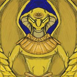 Goa'uld Gargoyles: Apophis by dragonfire53511