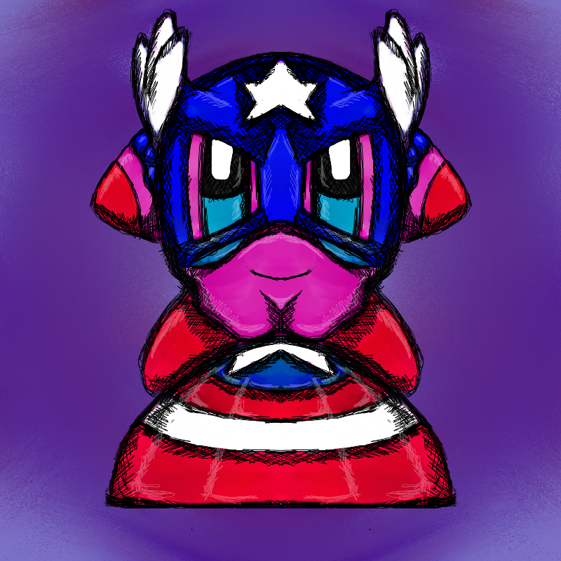Captain America  Kirby 2014 by dragonfire53511